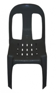 Black Boss Plastic Chair