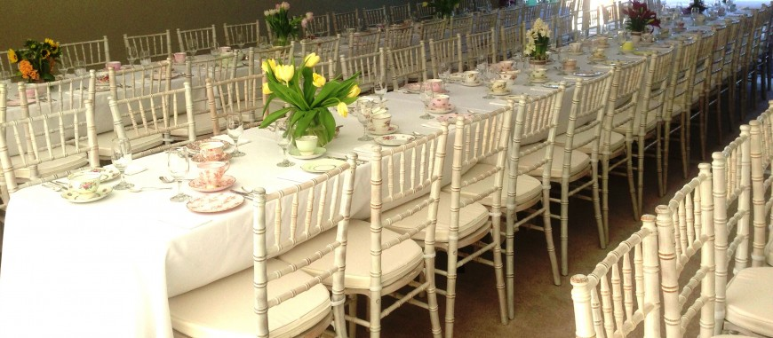 Tiffany Chairs in White